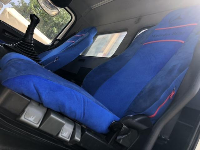 Mercedes axor koltuk kılıfı