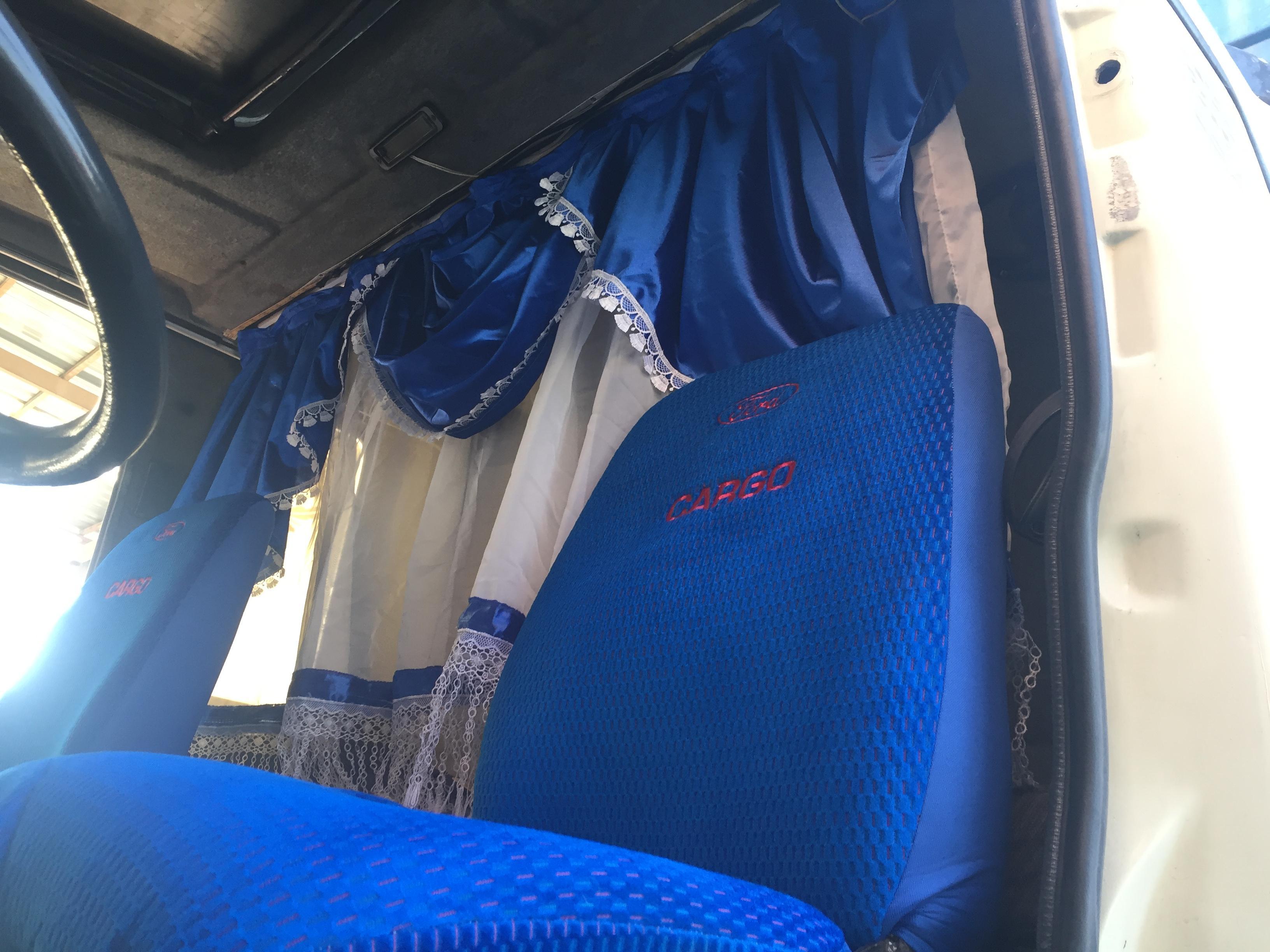 Ford kargo halı, kılıf ve perdesi