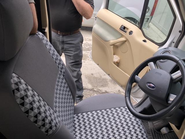 Ford connect koltuk kılıfı