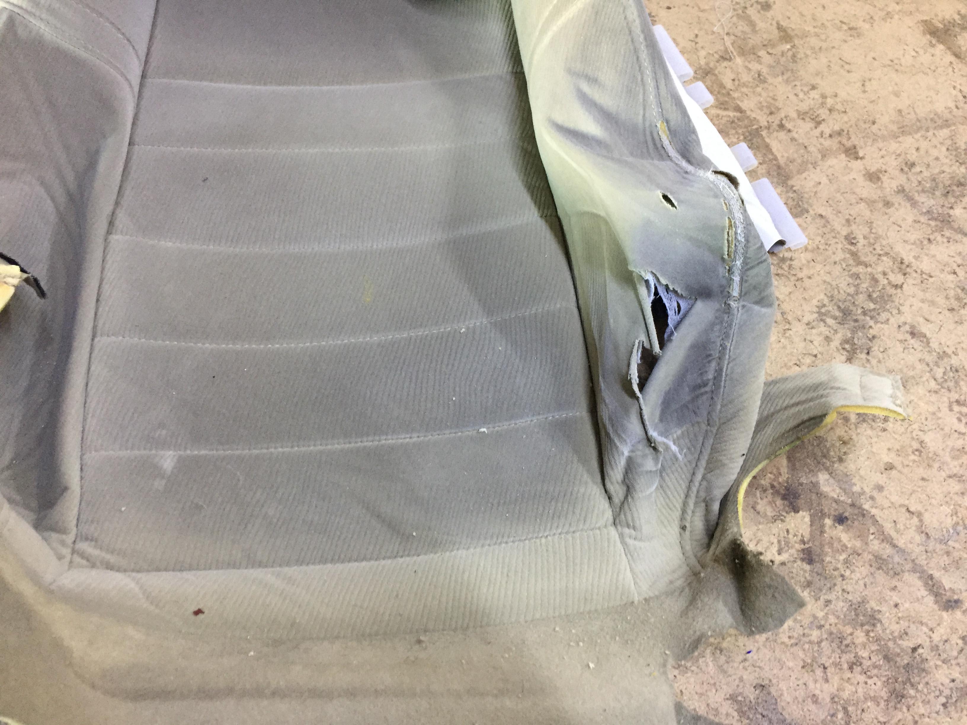 Honda civic döşeme yırtığı tamiri