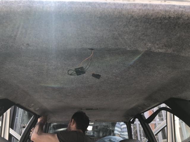 Ford escort koltuk kılıfı ve tavan döşemesi