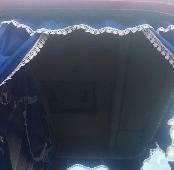 Mercedes Axor iç aksesuar işlemi
