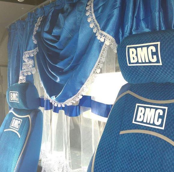 BMC kamyon iç aksesuar işlemi
