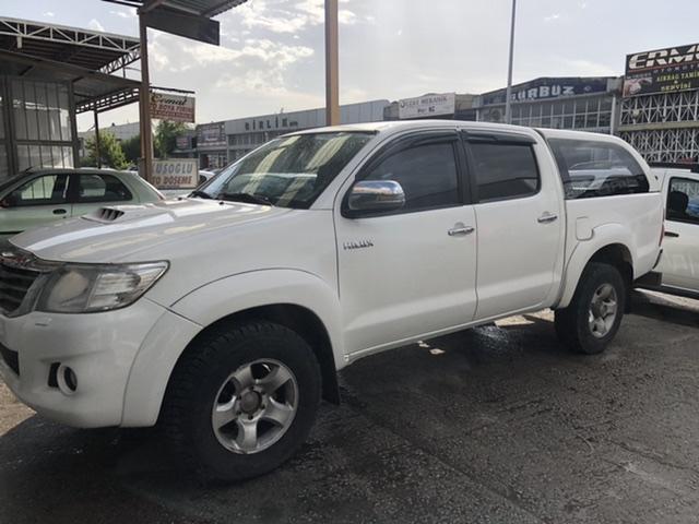 Toyota hilux koltuk kılıfı