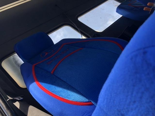 Mercedes Kamyon koltuk kılıfı